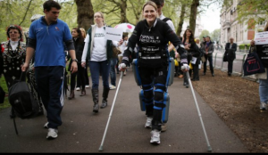 Robot exoskeleton suits